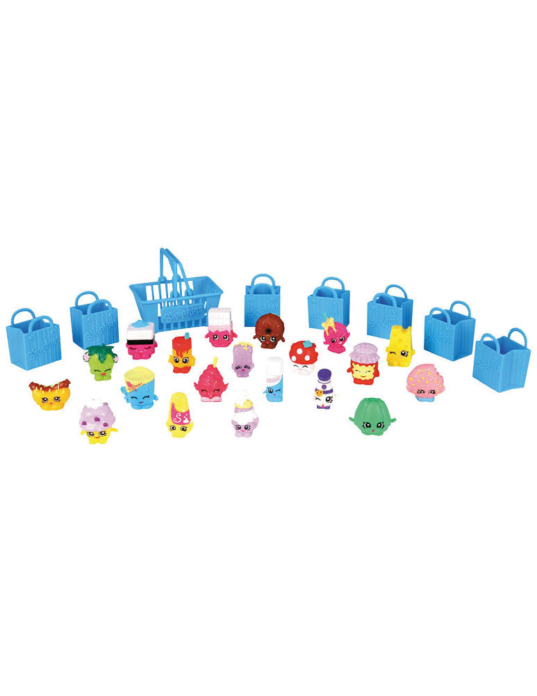 Shopkins Season 1 MEGA 20 Pack Box Tube NEW FACTORY SEALED - Styles May Vary