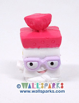 Shopkins Season 1 White/Pink Bread Head #1-033