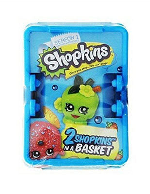 Shopkins Season 1 Sealed Blind Shopping Basket - Includes 2 Mystery Shopkins