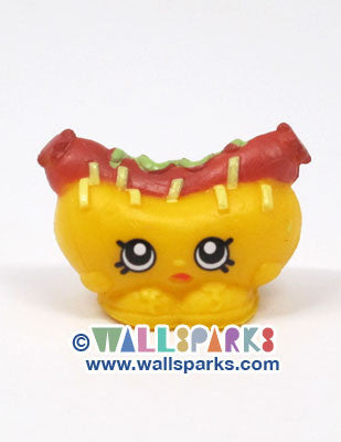 Shopkins Season 1 Brown Frank Furter Hot Dog #1-096
