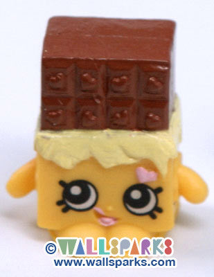 Shopkins Season 1 CHEEKY CHOCOLATE #050 - RARE