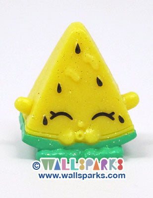 Shopkins Season 1 MELONIE PIPS #012 ULTRA RARE Glitter Finish