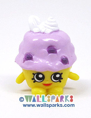 Shopkins Season 1 Yellow/Purple Mini Muffin #1-037