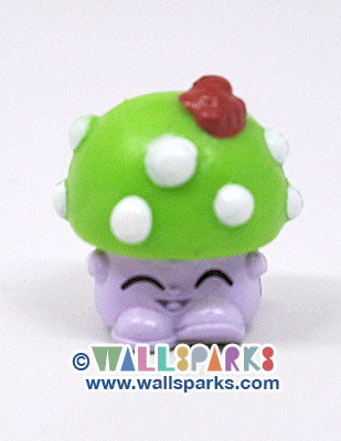 Shopkins Season 1 Green/Purple Miss Mushy-Moo #1-013