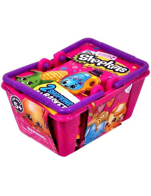 Shopkins Season 2 Sealed Blind Shopping Basket - Includes 2 Mystery Shopkins