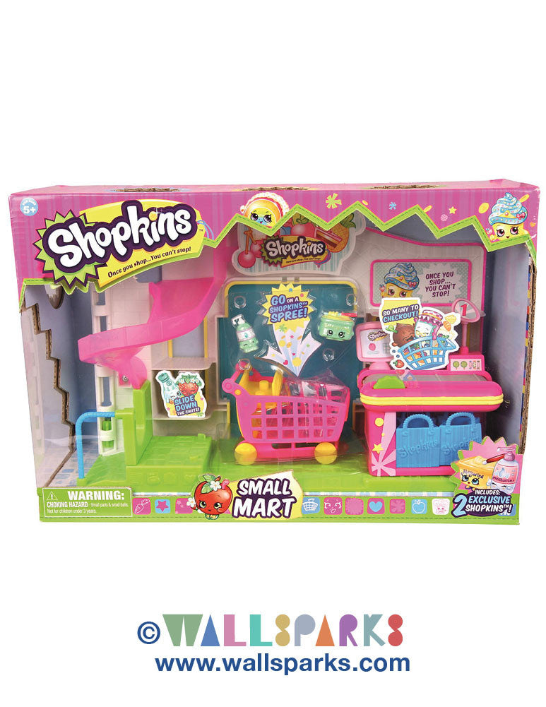 Shopkins Small Mart Supermarket Playset