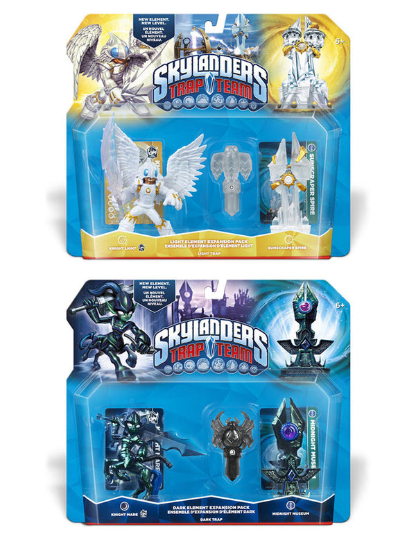 Skylanders Trap Team Dark & Light Element Expansion Pack