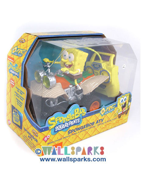 Spongebob Squarepants - Spongebob ATV Radio Control Vehicle - Nickelodeon