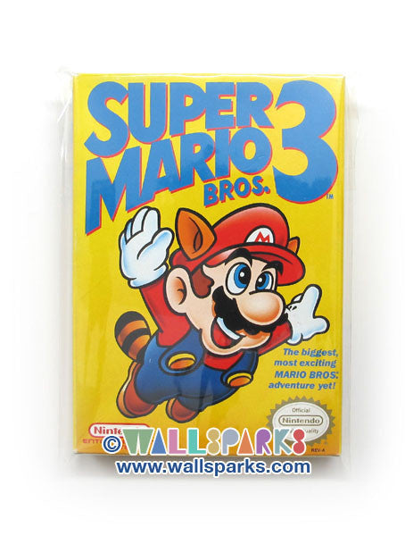 Super Mario Bros. 3 - Vintage Retro Video Game for Nintendo