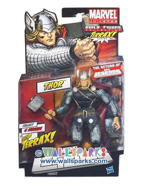 Thor Figure 6 Inches Marvel Universe Build A Figure Terrax