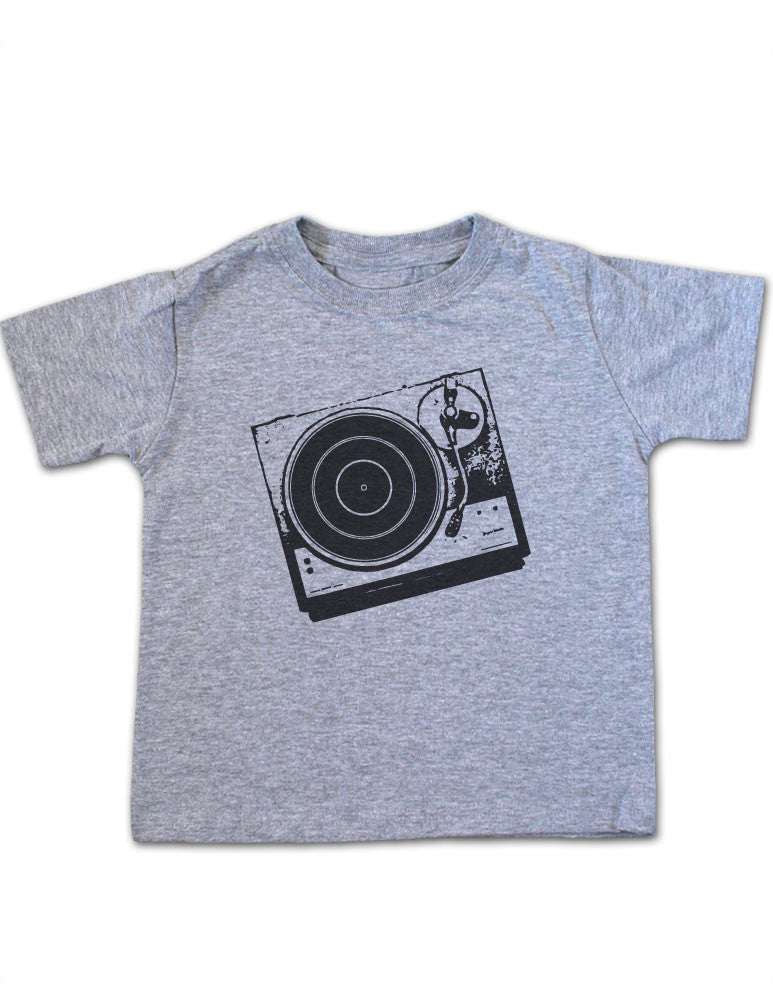 DJ Turntable Design 1 Toddler Tee Shirt