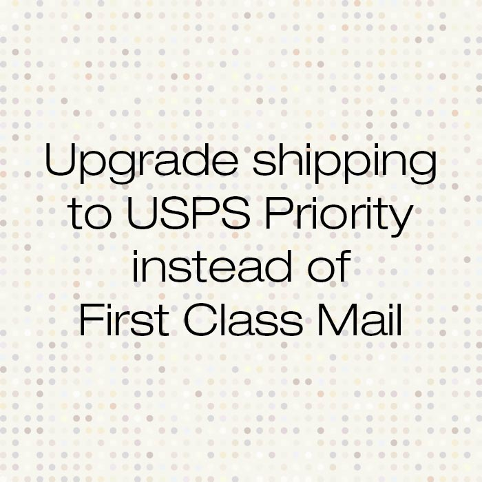 Upgrade Shipping to USPS Priority