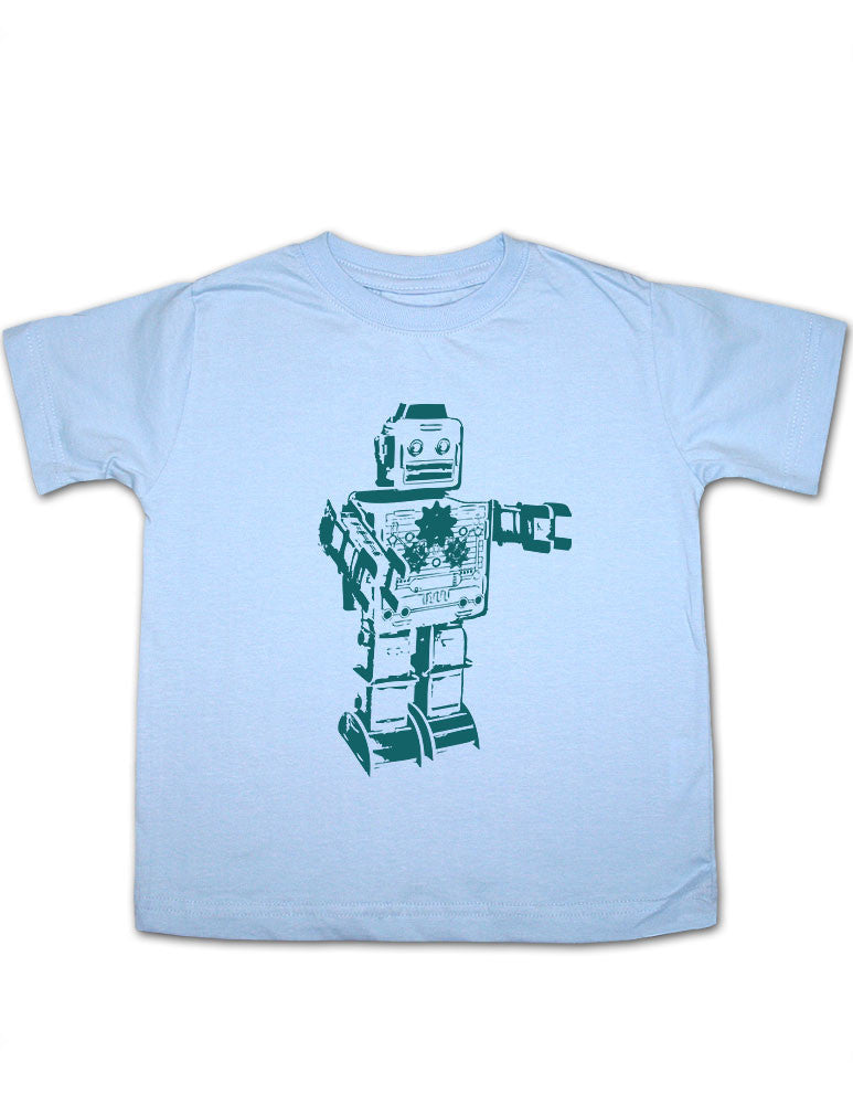 Vintage Robot 1 Toddler Tee Shirt