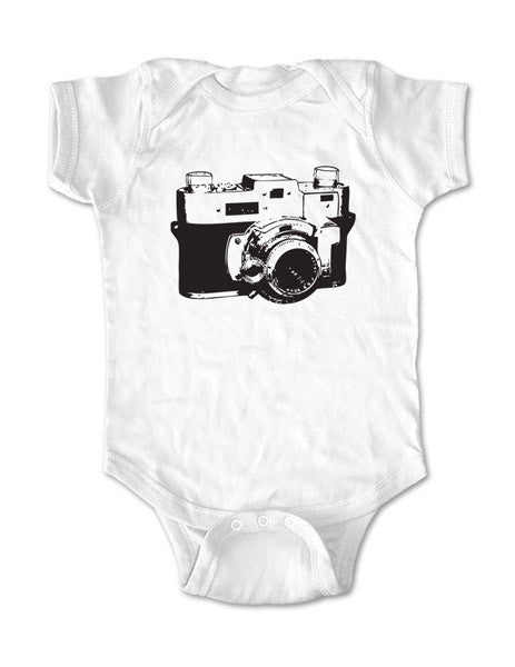 Vintage Camera 02 - Baby One-Piece Bodysuit, Infant, Toddler, Youth Shirt