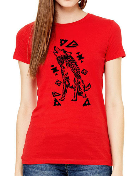Wolf Tribal Design2 - Women & Unisex/Men Shirt