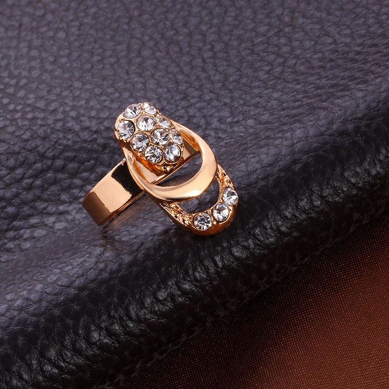 Rose Gold Crystal Jewerly Set