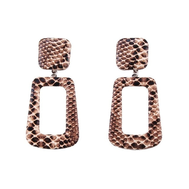 Snake Dangle Earrings