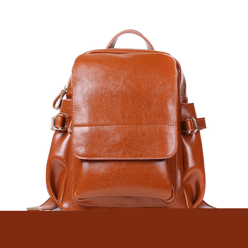 Fashion leather handbag leather