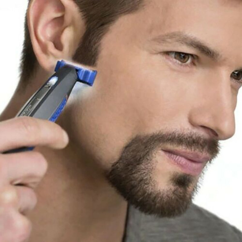 Micro-Touch Solo Electric Beard Shaver Cleaning