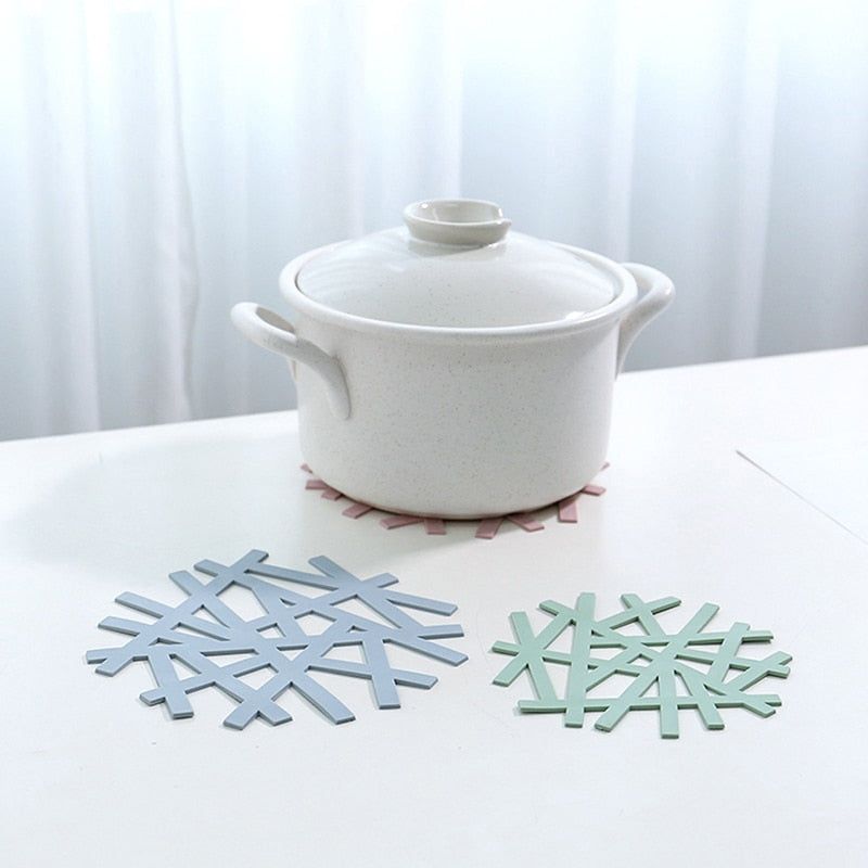 Snowflake Pad Kitchen Accessories Christmas Decoration