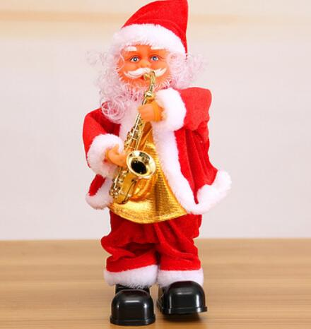 Electric Santa Music Doll Christmas Decoration