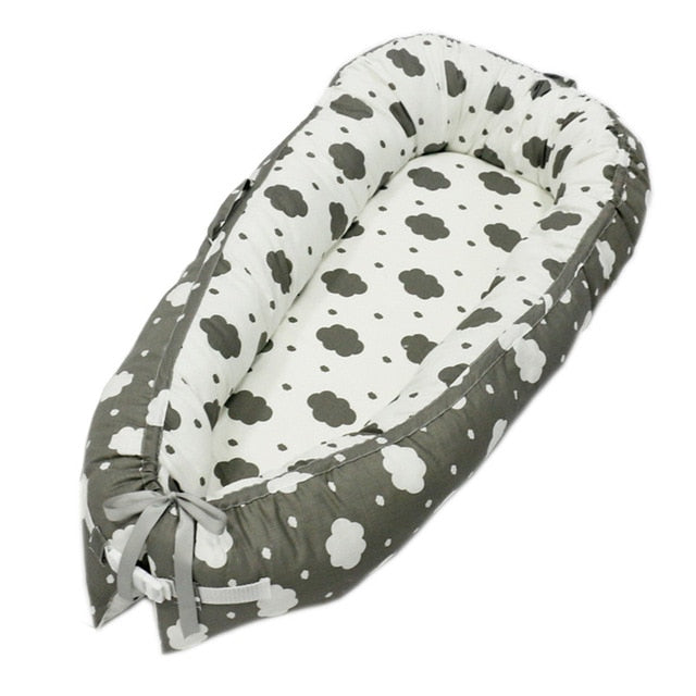 80*50cm Cotton Portable Baby Bed