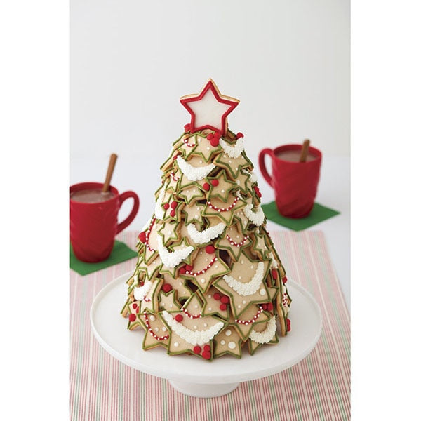 Christmas Tree Cutter Stars Cake Biscuit