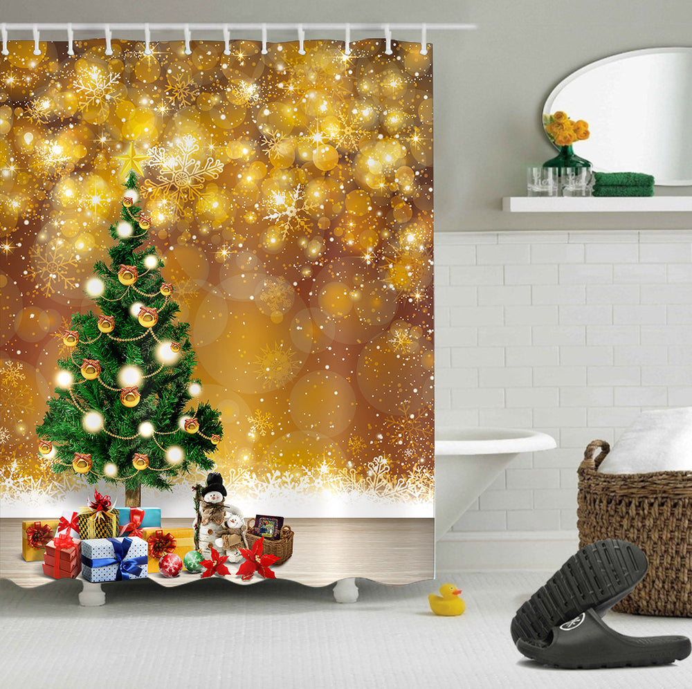 Christmas Decoration For Shower