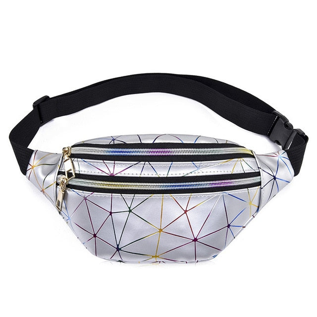 Holographic Waist Bags