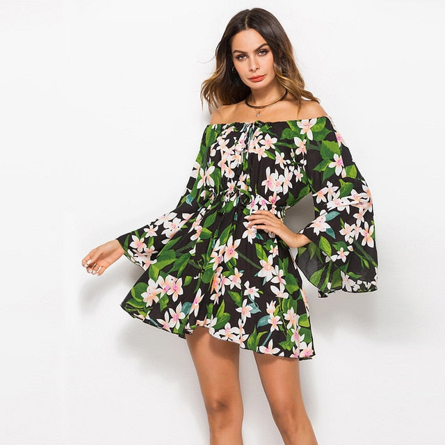 Sunflower Hawaii Dress