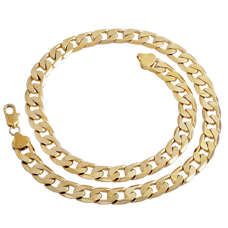 Golden Stainless Steel Men Chain