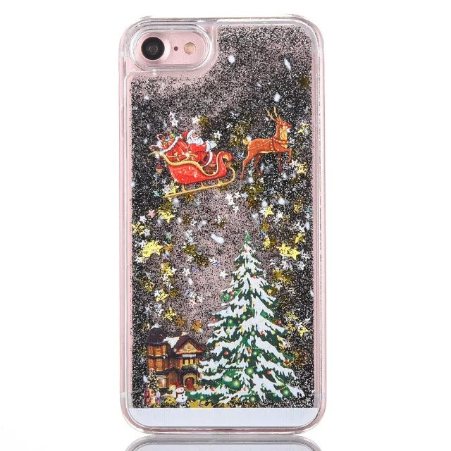 Christmas Cover For IPhone X ,7 ,8 Plus And 7, 6, 6s Plus