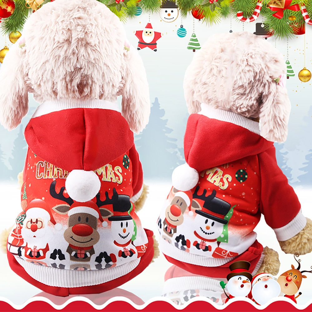 Christmas Pet Dog Clothes