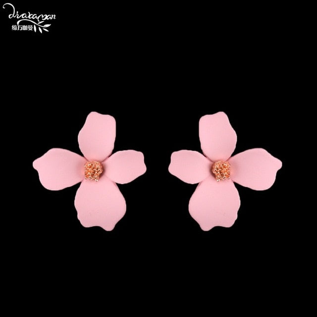 Flower Dangle Earrings