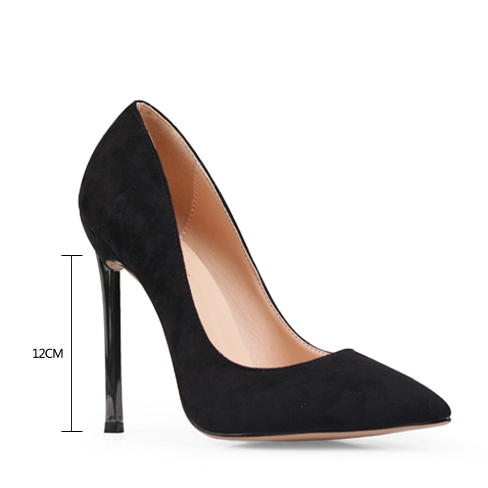Pointed Toe Thin Pump High Heels Ladies