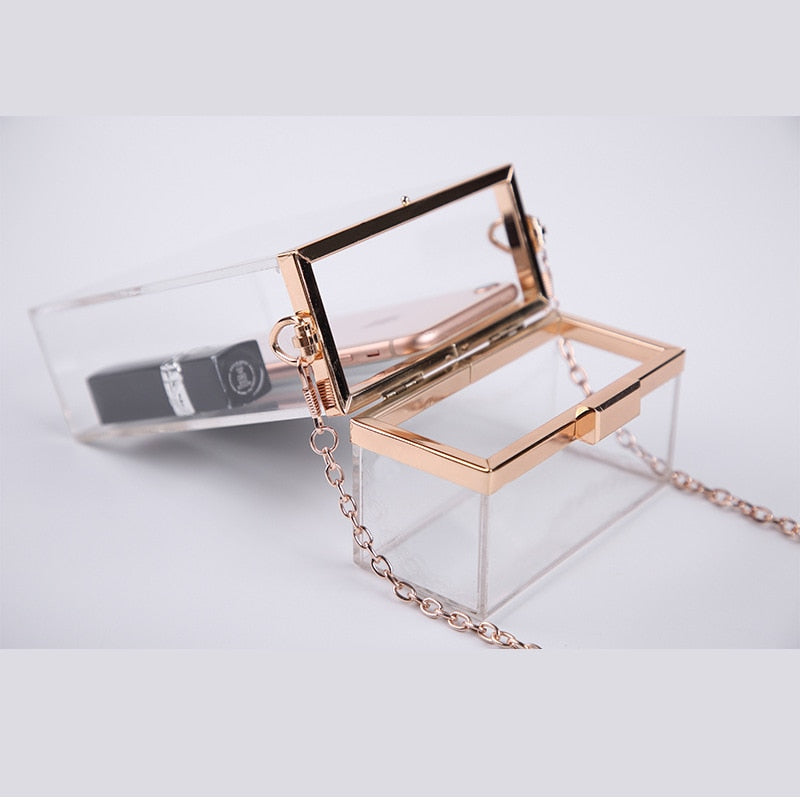 Transparent Acrylic Bag