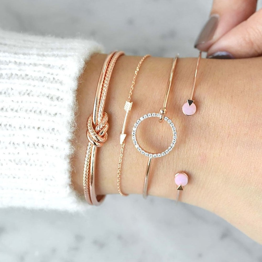 4 Pieces Set Bracelet for Women