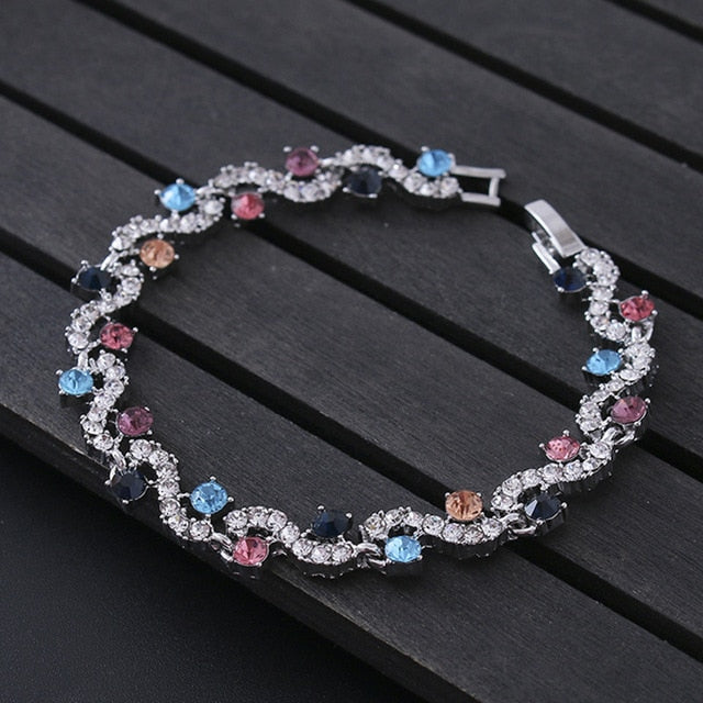 Luxury Charm Crystal Bracelet