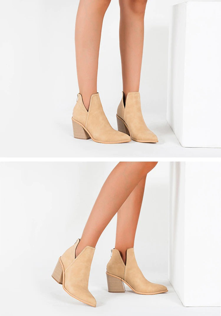 Autumn Winter Casual Western Cowboy Ankle Boot