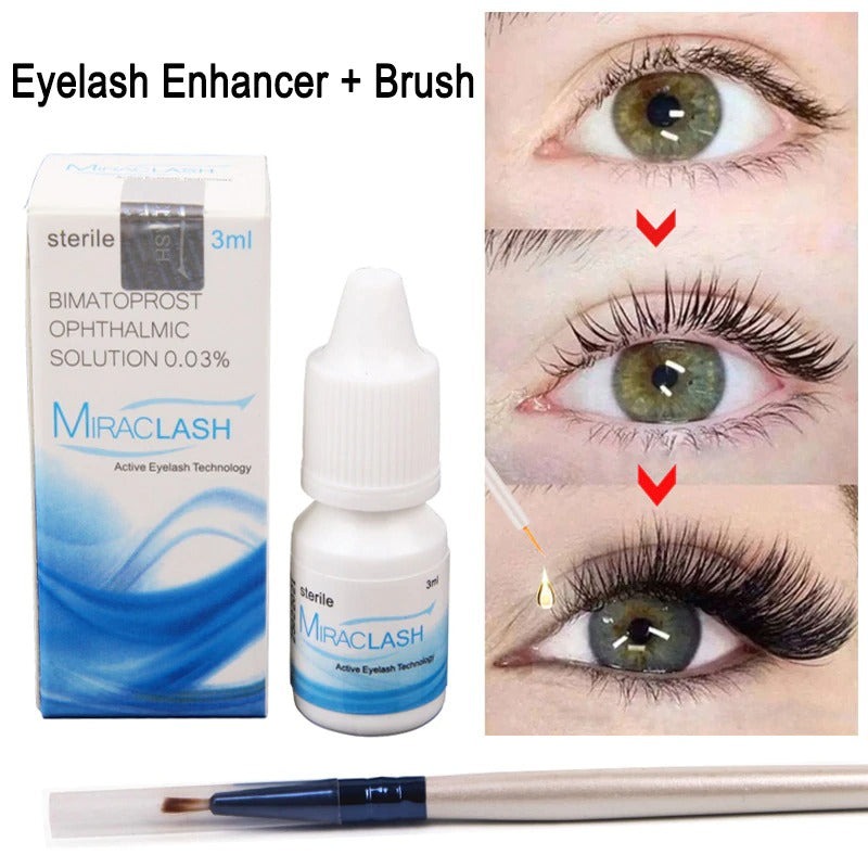 MIRACLASH Eyelash Enhancer Serum For Longer Fuller Thicker Lashes