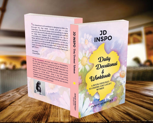 JD Inspo Daily Devotional & Workbook