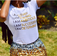 Load image into Gallery viewer, I AM Affirmation Tee