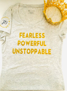 Fearless, Powerful, Unstoppable