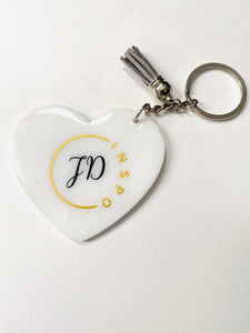 Driven By My Purpose Keychain