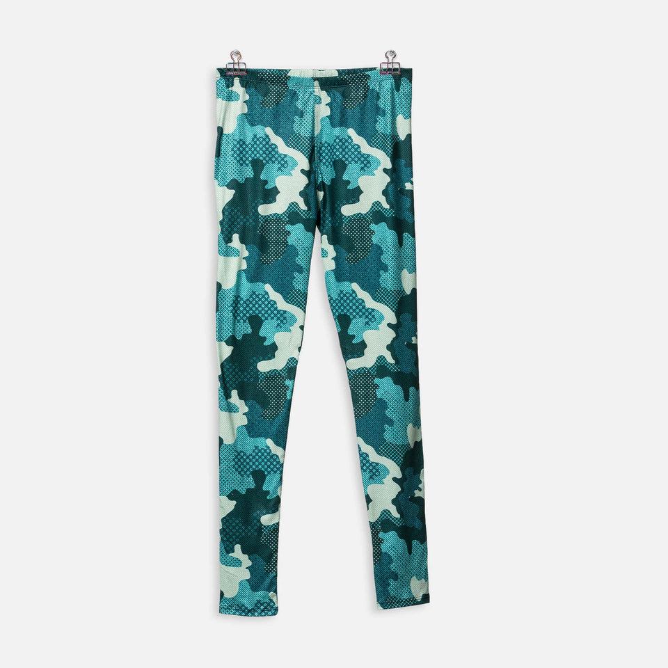 Legging Camo Green