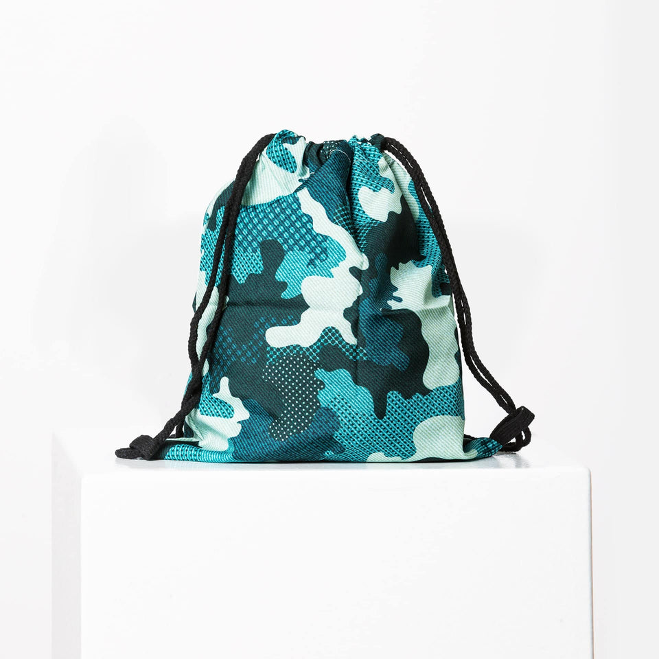 Camo Green Gym Bag