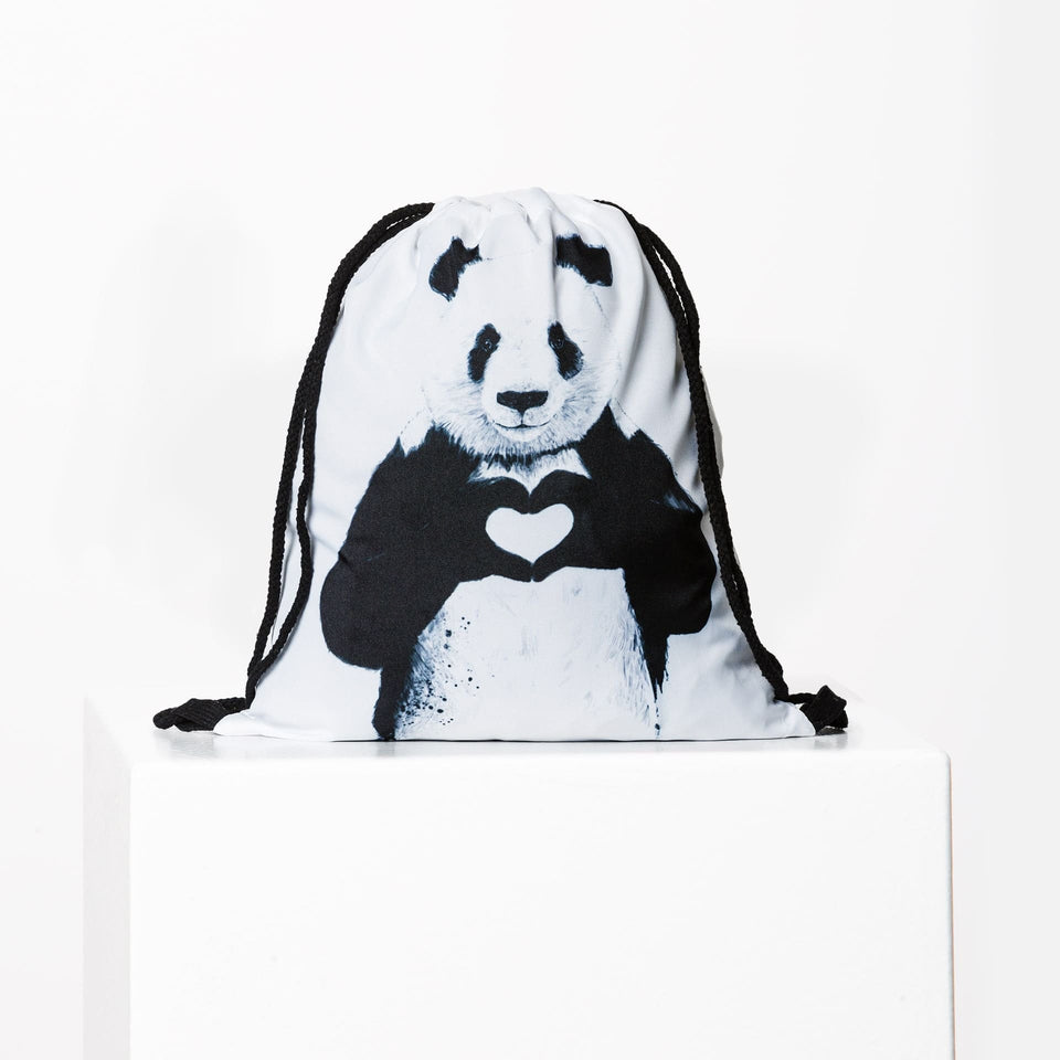 Panda Love Gym Bag