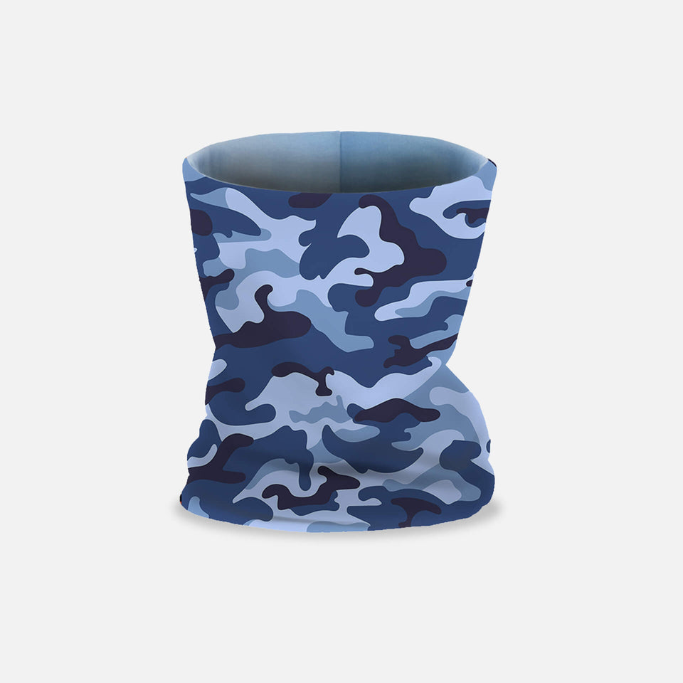 Loop-Schal BLUE CAMO