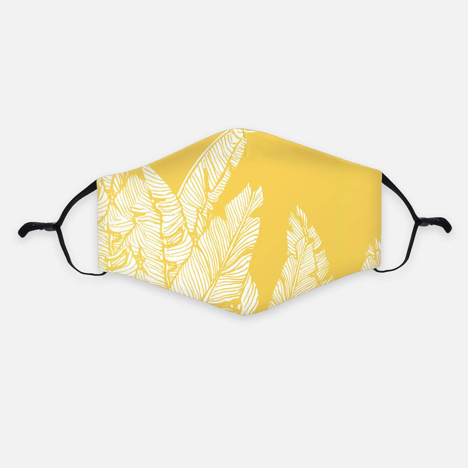 Art-Collection Community-Maske YELLOW PALM