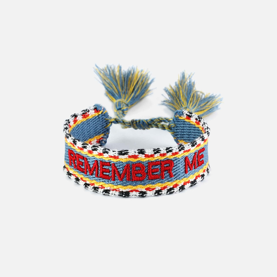 Webarmband Remember Me